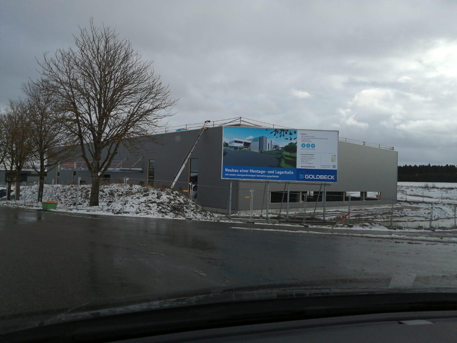 BAH Baufortschritt Bösingen – Januar 2020