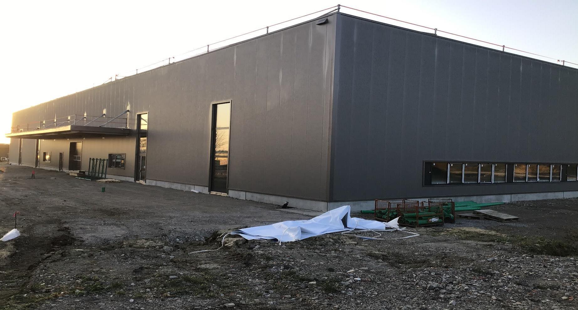 Baufortschritt Bösingen März 2020 – BAH Industrial Solutions